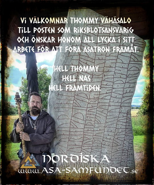 The Nordic Asa-Community has a new Nationally Blot Responsible